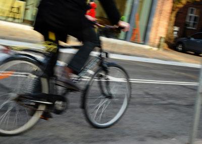 På cykel i H.C. Andersens Odense